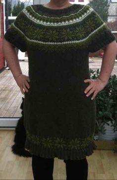 Drops kjole strikket i karisma