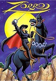 Zorro e seu cavalo, Tornado, em gibi