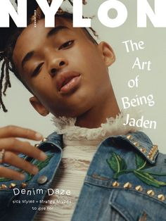 Grab the denim issue of NYLON mag with Jaden Smith on the cover! Please note that this listing is for a single issue, not a subscription. If you would like to purchase a subscription click here. **Pre