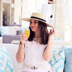 Mimosas should always be consumed in the finest of brunch attire!