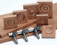 rosette woodworking bits   Rosette Profile Knives