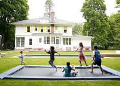 I want a trampoline in my yard. :)