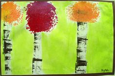 Birch Trees | PAINTED PAPER
