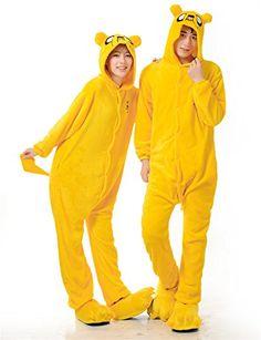 LIHAO Jack Onesie Pyjamas Schlafanzug unisex Erwachsene Nachtwäsche Anime Cosplay Halloween Kostüm Kleidung Tier  - http://www.amazon.de/dp/B00UFCJZYK