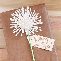 Dandelion Gift Wrap