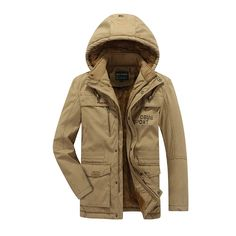(68.10$)  Know more - http://ai8l8.worlditems.win/all/product.php?id=32757786479 - 2016 New Cotton padded Winter parka men thick warm Winter jacket men casual with fur hooded coat brand military jacket L-8XL