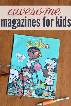16 great magazines for kids. Subscriptions make terrific gifts and these publications have high quality articles, stories and are free of advertising.