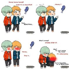 alright alright ! im crazy for this !  FINE ~~ !! YoonMin so sweet !! when they…