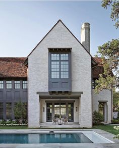 9 favourite modern farmhouse exterior design ideas 9 « A Virtual Zone Custom Home Builders, Custom Homes, Hill Interiors, Modern Farmhouse Exterior, Dream House Exterior, Residential Architecture, Architecture Details, Style At Home, Exterior Design
