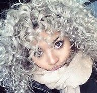 this hair color is just so beatiful, more when you are mixed