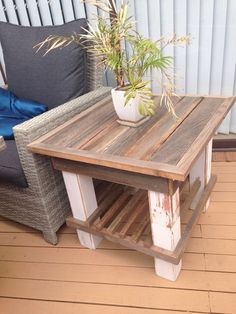 #Diy, #LivingRoom, #PalletCoffeeTable, #PalletTable, #RecyclingWoodPallets, #SideTable This Sturdy Pallet Coffee Table has rustic charm with elegant finish work. It also has additional storage shelving beneath. Mitering joints can be challenging, especially with an old, cheap chopsaw, but you develop skills.  Sturdy Pallet Coffee Ta