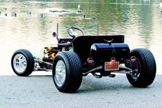 Classic T-Bucket Hot Rod