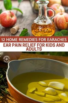Natural Remedies For Headache 12 Home Remedies for Earaches – Ear Pain Relief for Kids and Adults - Ear Pain Remedies, Home Remedies For Earache, Home Remedies For Arthritis, Home Remedy For Headache, Natural Headache Remedies, Natural Home Remedies, Holistic Remedies, Natural Healing, Health Remedies