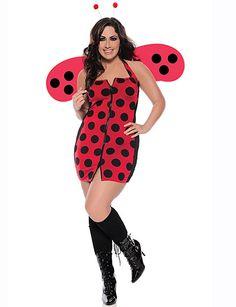 sexy halloween costume pretty ladybug plus size flirtcatalogcom
