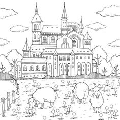Eriy's Romantic Country Book 1 - Sheep Meadow at Lorenzo Castle
