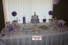 Sweet table for my daughter first communion.