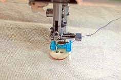 How to Sew on Buttons With Your Sewing Machine | Sew4Home