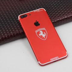 Ferrari Style  Available Color: Red, Black  Available Models: iPhone 6/6 Plus → Ferrari Style Price: $220 iPhone 6s/6s Plus → Ferrari Style Price: $220 iPhone 7/7 Plus → Ferrari Style Price: $250  Extra (Need Pre-Order) : Add Customized words: $50 Make Your Back Logo Light Up: $80 Diamond on the sides: $70  #Phoneaccessories #Iphone #PhoneCase #PhoneRepair First Iphone, Iphone 7, Lighting Logo, All Iphones, Latest Iphone, 7 Plus, Color Red, Red Black, Phone Accessories