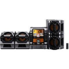 Sony Muteki Stereo System With IPod Dock 720 Watts LBT ZX99i