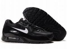 Comprar Nike Air Max 90 Hombre Funcionamiento Negro Blanco