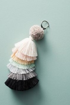 Anthropologie Tiered Tassel Keychain https://www.anthropologie.com/shop/tiered-tassel-keychain?cm_mmc=userselection-_-product-_-share-_-43480359