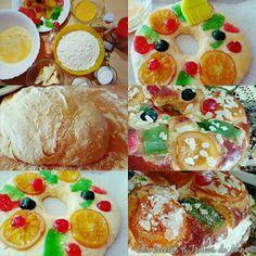 Las Recetas & Trucos de Anna: Roscón de Reyes Tradicional (Principiantes)¿¿De Qué lo vas a Rellenar??