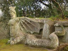 Bomarzo, Italy: Garden of Monsters