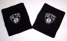 Brooklyn Nets Team Logo Wristbands Sweatbands By For Bare Feet by For Bare Feet. $8.99. One pair of team logo wristbands.  Top-quality expandable terry cloth double-wide wristbands.  Super comfortable and absorbent.  Machine washable cotton/poly blend.  Officially licensed by the team and the league.  Brand new in package.