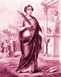 St. Agatha: Purity is a gift of God: we can gain it and preserve it only by care and diligence in avoiding all that may prove an incentive to sin. #Catholic #Pray #Martyr