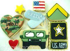 Army cookies