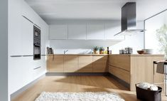 We have a huge range of German kitchen styles, from modern handleless to country style. Our kitchen design ideas show just some of the options available. White Oak Kitchen, New Kitchen, Kitchen Decor, Kitchen Wood, Kitchen Ideas, Handleless Kitchen, Cocinas Kitchen, Oak Kitchen Cabinets, Kitchen Flooring