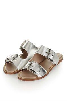 FRANCO Double Buckle Sandals