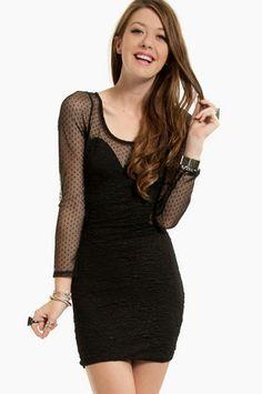 Don't Mesh With Me Dress at www.tobi.com