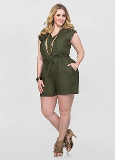 4a9cf871309 74 Best Plus Size Rompers and Jumpsuits images