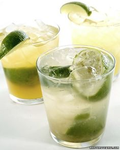 This refreshing cocktail features lime, sugar, mint and more and is the best way to enjoy summer. Find more mojito recipes and drink ideas from Genius Kitchen. Refreshing Cocktails, Classic Cocktails, Summer Cocktails, Popular Cocktails, Summer Sangria, Fruity Alcohol Drinks, Fun Drinks, Alcoholic Drinks, Cold Drinks