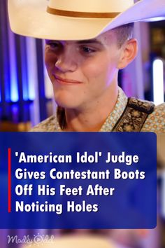 'Idol' Judge Gives Hopeful Country Crooner The Boots Off His Feet After Noticing Holes During Audition Got Talent Videos, Talent Show, America's Got Talent, Kinds Of Music, I Love Music, Love Songs, Singing Auditions, Bruno Mars Songs, American Idol Judges