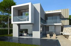 We plan, design and enable solutions House Elevation, Project Management, Luxury Real Estate, Modern Architecture, Beach House, Beautiful Places, Construction, Mansions, House Styles