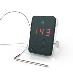 """there is nothing more """"manly"""" than a grilling thermometer that connects to your iPhone via bluetooth. LOL from Amazon.com: iDevices iGrill 7685-IGLK Grilling/Cooking Barbecue Thermometer,"""