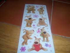 Boofie Bear Stickers
