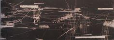 """5823"", xilogravura, 1958. Fayga Ostrower."