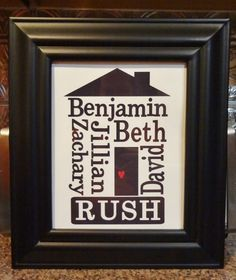 Beth's Paper Cuts: Name Frame created with MDS