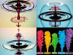 Une artiste transforme l'eau en sculptures multicolores étonnantes