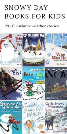 Winter is the perfect season for snuggling up with a mug of cocoa, a warm blanket, and a good story. These Snow Books for Kids are perfect for celebrating snowflakes,snow days, and snowballs. #booklists #winter #booksforkids via @https://www.pinterest.com/fireflymudpie/