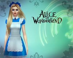 maimouth:  ♣ Alice In Wonderland ♧Hairstyle by simistaLipstick by jsboutiqueLashes by maygamestudioHead Ribbon by MarigoldCostume by notegainthanks for the beautiful cc! xx