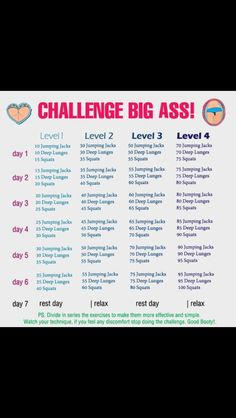 Big butt workout lol