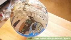 Image titled Make Papier Mâché Objects Step 7 preview
