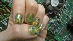 How about some nerdy nail art?