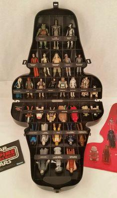 Lot 31 Vintage 1977-85 Kenner Star Wars Figures W/Darth Vader Case    eBay