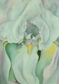 """I found I could say things with colour and shapes that I couldn't say any other way - things I had no words for"" Georgia O'Keeffe"