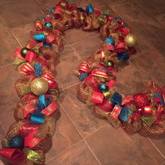 A personal favorite from my Etsy shop https://www.etsy.com/listing/256324552/byzantine-christmas-garland